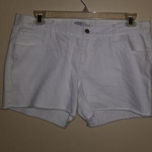 Old Navy Diva cut off jean shorts